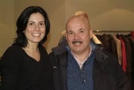 Ubaldo, insieme a Debora Conti