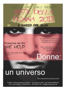 Manifesto Festa della donna 2013