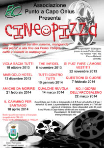 locandina cine&pizza