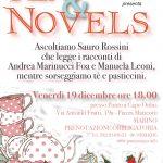 Tea&Novels: quest'anno Sauro Rossini legge i racconti di Foa Marinucci e Leoni