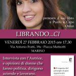 27 febbraio: parliamo di pari opportunità con Francesca Ragno