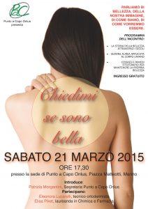 Locandina 21 marzo 2015