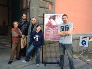 Da dx: Mauro Uzzeo, Francesca Marrucci, Sauro Rossini, Gianfranco Papa e Patrizia Morgantini