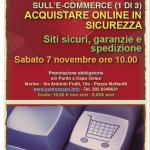 Sabato 7 novembre 2015: Primo dei 3 seminari sull'ecommerce