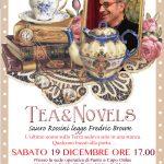 Sabato 19 dicembre 2015: torna l'atmosfera natalizia del Tea&Novels. Sauro Rossini legge Fredric Brown con sorprese varie…