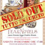 Tutto esaurito per il Tea&Novels!!!