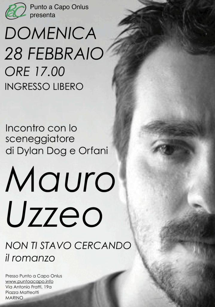Locandina Mauro Uzzeo 2016