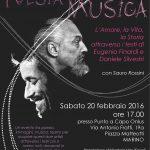 Sabato 20 febbraio torna POESIA IN MUSICA dedicato a Daniele Silvestri e Eugenio Finardi