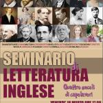SABATO 2 APRILE Seconda parte Seminario sulla Letteratura Inglese