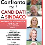 La nostra testata giornalistica PUNTO A CAPO ONLINE organizza un confronto pubblico tra i candidati a Sindaco di Marino