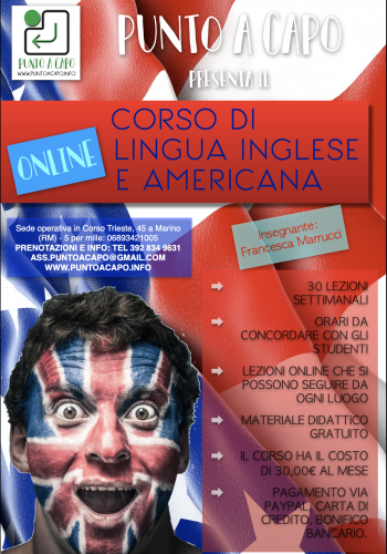 Lingua Inglese e Americana