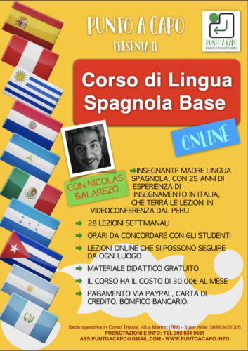 Locandina Spagnolo 2020-21